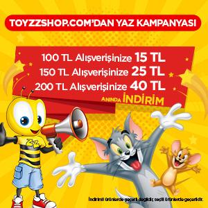 Toyzzshop.com'dan Yaz Kampanyası