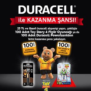 Duracell Toy Story 4 Kampanyası
