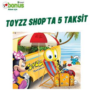 Toyzz Shop'tan Bonus Kart'a 5 Taksit