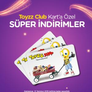 Toyzz Club Temmuz Kampanyası