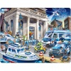 43 Parça Maxi Puzzle : Banka Soygunu ve Polisler