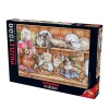 1000 Parça Puzzle : Yavru Kediler
