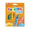 Carioca Jumbo Bebek Yumuşak Pastel Boya 8'li