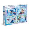 2 x 20 + 2 x 60 Parça Puzzle : Frozen