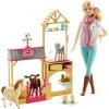 Barbie Veteriner Oyun Seti