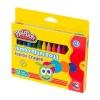 Play Doh Silinebilir Jumbo Crayon Mum Boya 12 Renk
