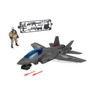 Sesli ve Işıklı Soldier Force Air Hawk Attack Oyun Seti