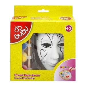 BuBu Seramik Maske Boyama Seti