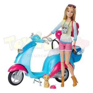 Barbie ve Scooter'ı
