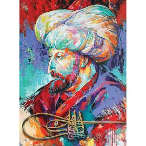1000 Parça Puzzle : Fatih Sultan Mehmet