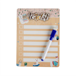 To Do List Magnetli Ahşap Notluk