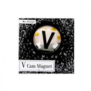V Harfi Cam Magnet