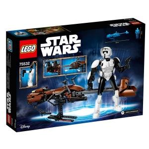 LEGO Star Wars Scout Trooper ve Speeder Motosikleti 75532