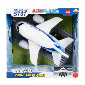 Sesli ve Işıklı Yolcu Uçağı 32 cm.