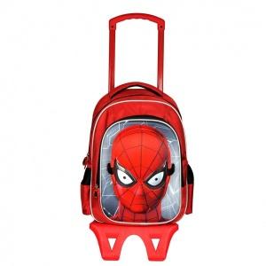Spiderman Çekçekli Okul Çantası 95325