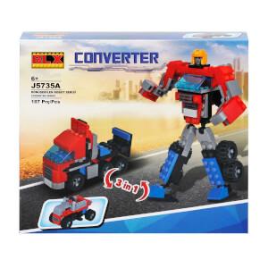 Yapım Seti : Robota Dönüşen Araç Seti
