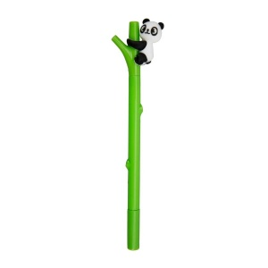 Panda Başlıklı Jel Kalem