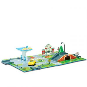 Robocar Poli Kitap Kasaba Enerji İstasyonu Oyun Seti
