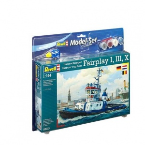 Revell 1:144 Harbour Tug Model Set Gemi