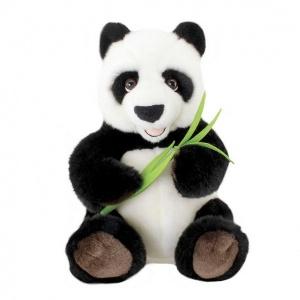 Bambulu Oturan Panda Peluş 30 cm.