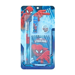 Spiderman 5'li Kırtasiye Seti