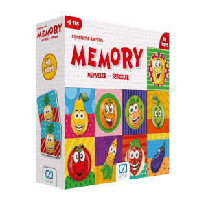 Hafıza Kartları Meyveler ve Sebzeler