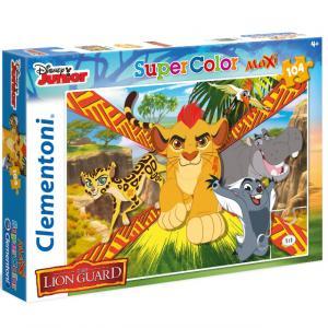 104 Parça Maxi Puzzle : The Lion Guard: Wild Team