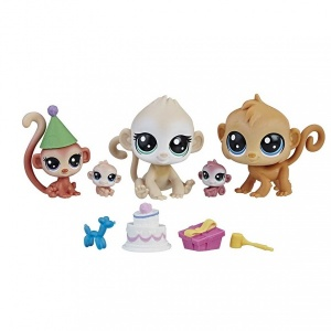 Littlest Pet Shop Miniş Ailesi (Birthday Bash)