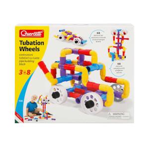 Quercetti Tubation Wheels Yapım Seti 68 Parça