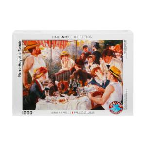 1000 Parça Puzzle :  The Luncheon - Pierre Auguste Renoir