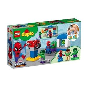 LEGO DUPLO Spider-Man ve Hulk Maceraları 10876