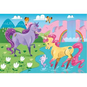 2x20 Parça Puzzle : Unicorn