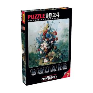 1000 Parça Puzzle : Çiçek Buketi