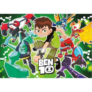 104 Parça Puzzle : Ben 10 Fluorescent