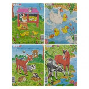 Midi Puzzle 9 Parça : Çiftlik Hayvanları