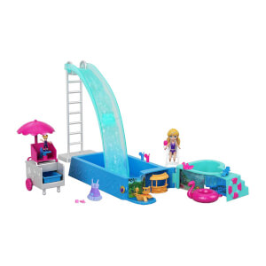 Polly Pocket Havuz Partisi Oyun Seti FTP75
