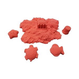 BuBu Kinetik Kırmızı Kum 1000 gr