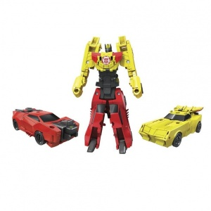 Transformers RID Crash Combiner İkili Figür (Bumblebee-Sideswipe)