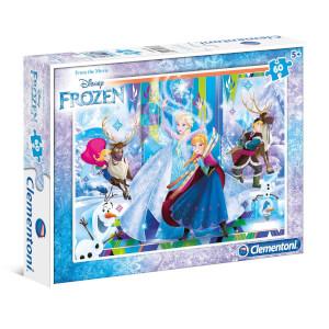 60 Parça Puzzle : Frozen S.C.
