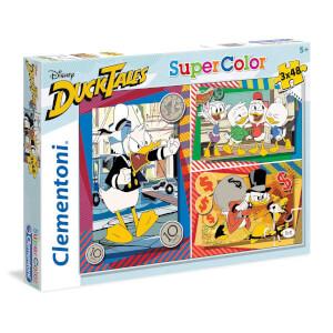 3x48 Parça Puzzle : Duck Tales