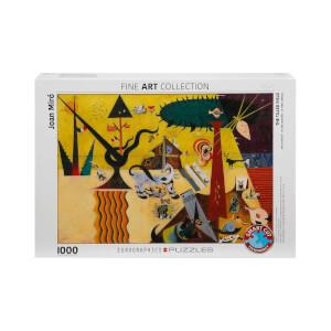 1000 Parça Puzzle : The Tilled Field -  Joan Miro