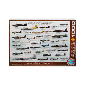1000 Parça Puzzle : World War II Aircrafts