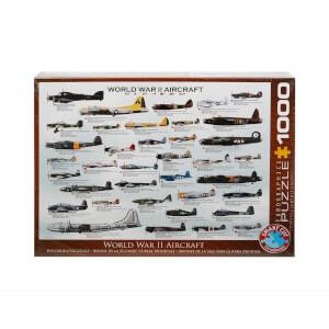 1000 Parça Puzzle : World War II Aircrafts