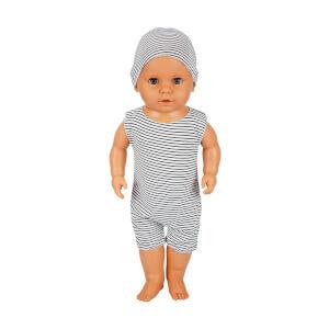 Boubou Şapkalı Bebeğim 60 cm.