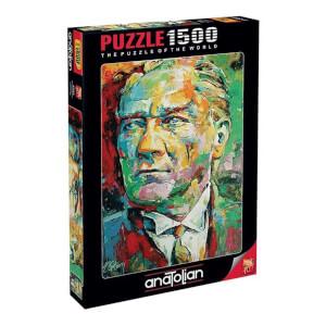 1500 Parça Puzzle : Mustafa Kemal Atatürk