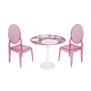 2 Sandalyeli Yemek Masası 20 cm.