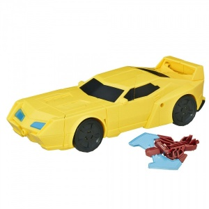 Transformers Robots In Disguise Power Surge Figür ve Weaponizer (Bumblebee)