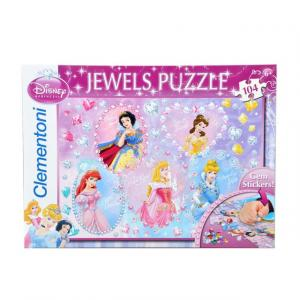 104 Parça Taş Yapıştırma Puzzle : Princess