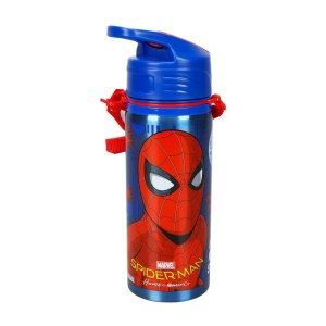 Spiderman Çelik Matara 600 ml. 78841