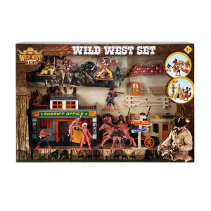 Kızılderili Kovboy Oyun Seti